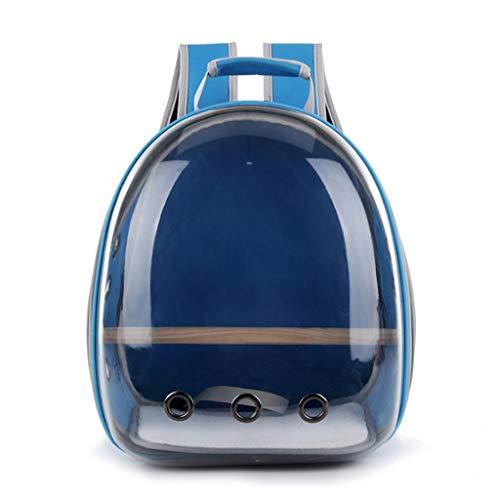 Fmingdou Pet Parrot Carrier Bird Travel Bag Space Capsule Transparent Backpack Petsep Com