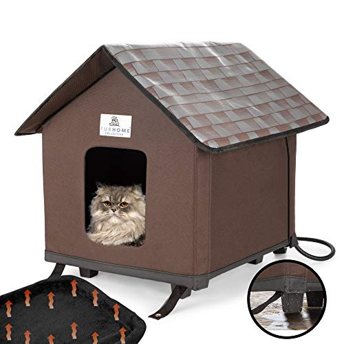 Heated Cat Houses For Indoor And Outdoor Cats Elevated Best Petsep Com